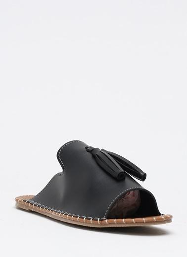 Shoes1441 Terlik Siyah
